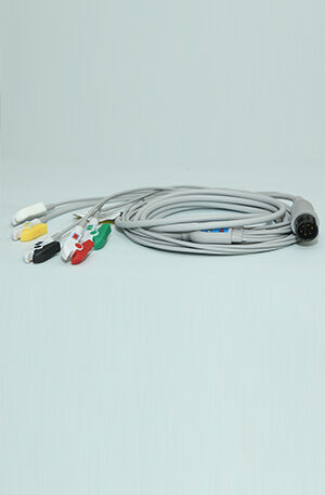 5 LEAD 6 PIN ECG CABLE FOR MINDRAY