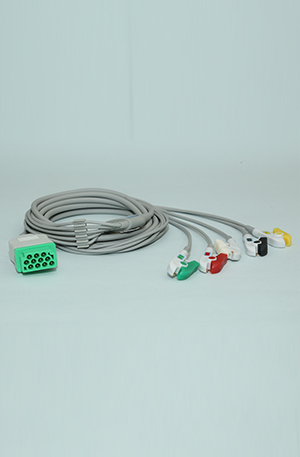 GE ECG CABLE 5 LEAD