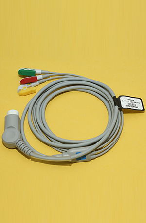 PHILIPS ECG CABLE 3 LEAD 12 PIN
