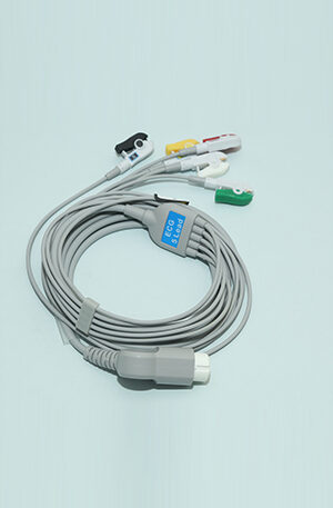 PHILIPS ECG CABLE 5 LEAD ..