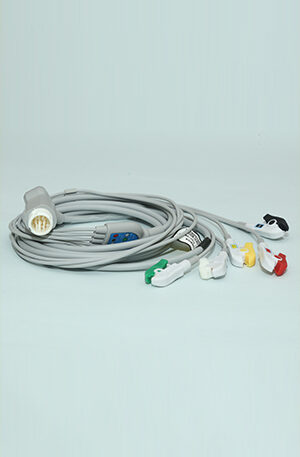 PHILIPS ECG CABLE 5 LEAD CLIP TYPE
